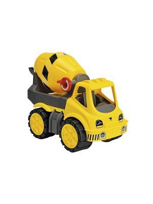 Бетономешалка Big Power Worker, 33*20*23см,1/4. Цвет: желтый, серый