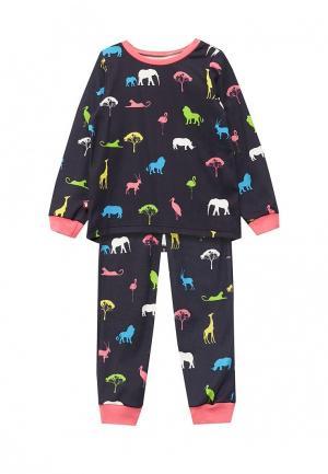 Пижама КотМарКот. Цвет: синий
