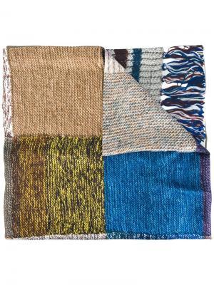 Полосатый шарф Pierre-Louis Mascia. Цвет: многоцветный