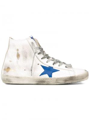Хайтопы Francy Golden Goose Deluxe Brand. Цвет: белый