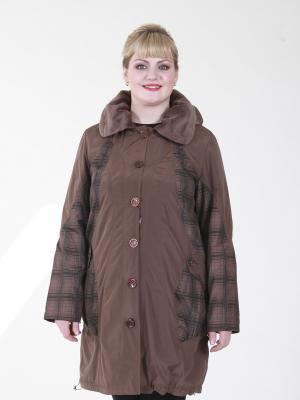 Куртка Бритни VIKO. Цвет: темно-бежевый