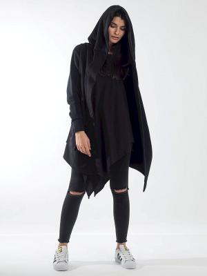 Мантия ALGORYTHM. Цвет: черный