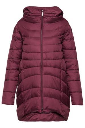Пальто ODRI Mio. Цвет: бордовый