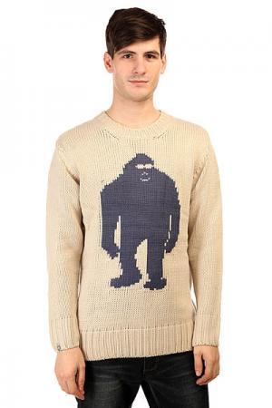 Свитер  Sassy Sweater Fog Airblaster. Цвет: бежевый