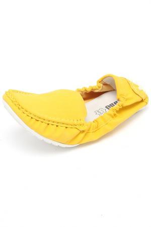 Туфли Keddo. Цвет: желтый