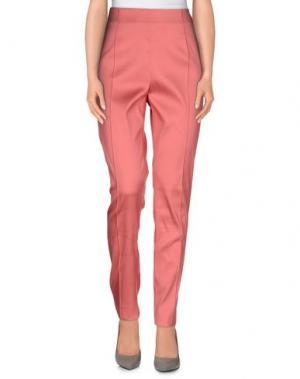 Повседневные брюки GOOD ON HEELS. Цвет: лососево-розовый