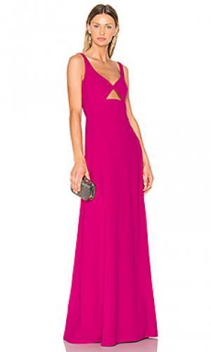 Вечернее платье с вырезом JILL STUART. Цвет: фуксия