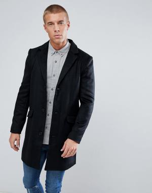 Another Influence Пальто. Цвет: черный