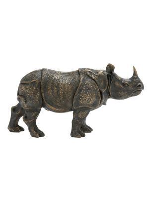 Фигурка Носорог UMA. Цвет: темно-коричневый