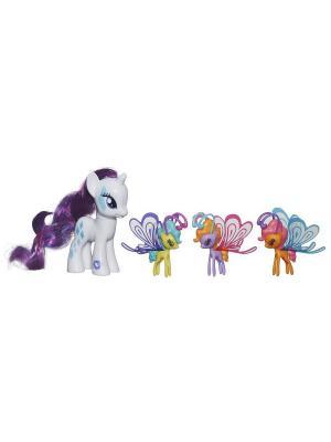 Пони Делюкс с волшебными крыльями Hasbro. Цвет: белый
