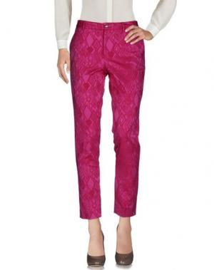 Повседневные брюки PT0W. Цвет: фуксия