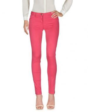 Повседневные брюки EDDIE PEN. Цвет: пурпурный
