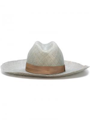 Широкополая шляпа Super Duper Hats. Цвет: зелёный