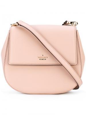 Saddle shoulder bag Kate Spade. Цвет: телесный