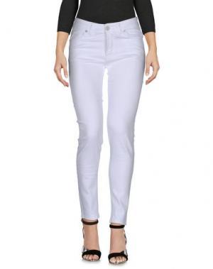 Джинсовые брюки UFFICIO 87. Цвет: белый