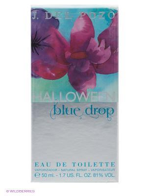 Туалетная вода Halloween Blue Drop, 50 мл. Цвет: серый, голубой, розовый