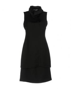 Платье до колена OPENING CEREMONY. Цвет: черный