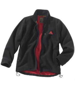 Флисовая Куртка Скорпион AFM. Цвет: черныи