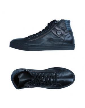Высокие кеды и кроссовки BRUNO VERRI. Цвет: черный