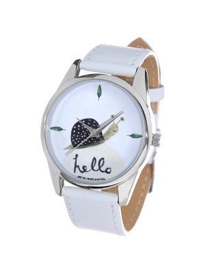 Часы Mitya Veselkov. Цвет: черный, зеленый, белый