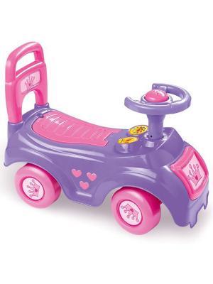 Автомобиль-каталка розовый DOLU. Цвет: розовый