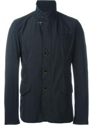 Куртка с высоким воротником Fay. Цвет: синий