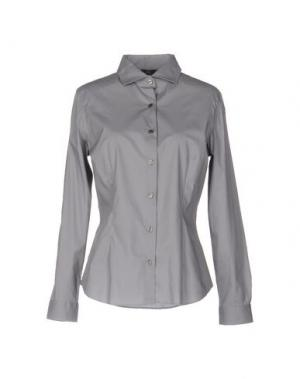 Pубашка SONRISA. Цвет: серый