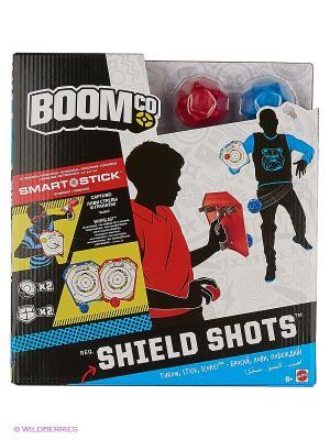 Щиты с гранатами BOOMco. Цвет: черный, синий, красный, белый