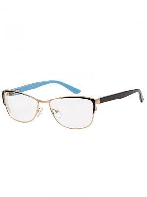 Очки готовые G1358/-1,0 Grand. Цвет: черный, бирюзовый, золотистый