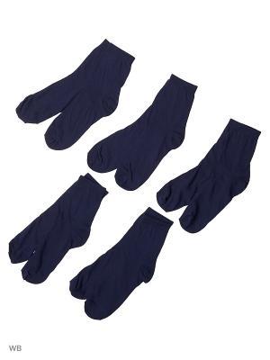 Носки детские (5 пар) HOSIERY. Цвет: синий