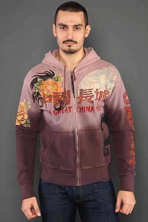 Кардиган The Great China Wall. Цвет: коричневый
