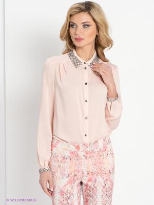 Блузка DEVORE. Цвет: бледно-розовый