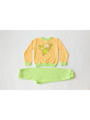 Пижама Iota. Цвет: желтый, зеленый