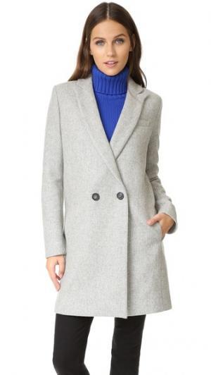 Пальто Andrew Kitty на подкладке Paul & Joe Sister. Цвет: голубой