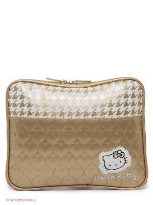 Чехол для ноутбука Hello Kitty DIVA. Цвет: золотистый
