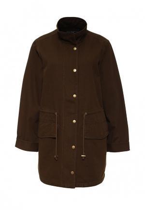 Куртка French Connection. Цвет: коричневый