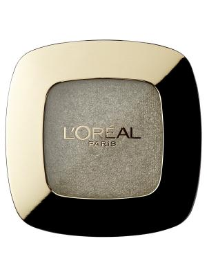 Тени для век Color Riche LOmbre Pure, оттенок 306, Place Vendome, 3,6 мл L'Oreal Paris. Цвет: серебристый