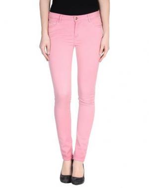Повседневные брюки REIKO. Цвет: пастельно-розовый