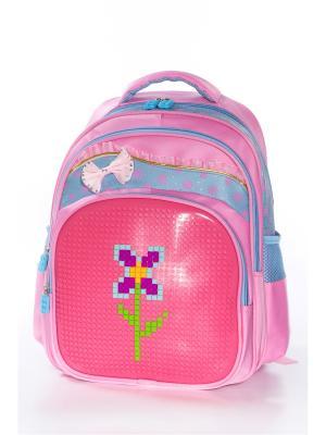 Рюкзак Vittorio Richi. Цвет: розовый, голубой