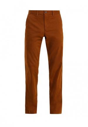 Чиносы Gap. Цвет: коричневый