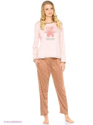 Пижама Teddy bear (коричневая) Kawaii Factory. Цвет: коричневый