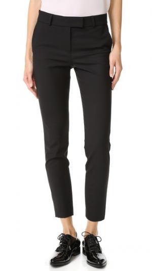 Узкие брюки-дудочки Veronica Beard. Цвет: голубой
