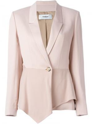 Структурированный пиджак Chalayan. Цвет: розовый и фиолетовый