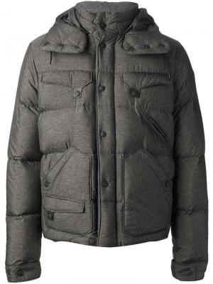 Пальто Moncler W. Цвет: серый