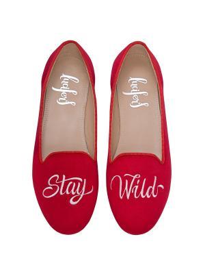 Слиперы - Стэй Вайлд Lucifer's shoes. Цвет: красный