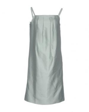Короткое платье RAOUL. Цвет: светло-зеленый