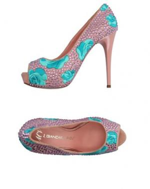 Туфли GIANCARLO PAOLI. Цвет: розовый