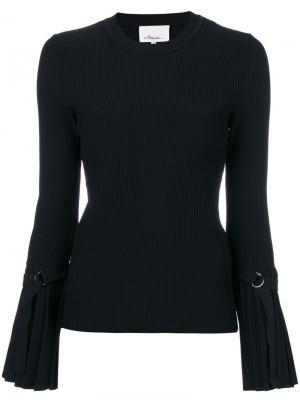 Классический трикотажный свитер 3.1 Phillip Lim. Цвет: чёрный