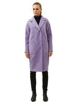 Пальто DOCTOR E. Цвет: сиреневый