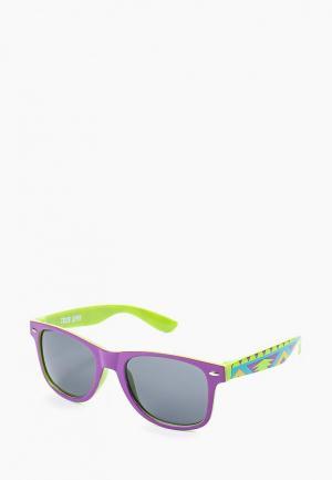 Очки солнцезащитные True Spin. Цвет: фиолетовый